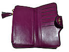 Женский кошелек клатч Baellerry Clover (19x9x2,5 см) черный, фото 4