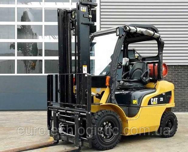 Вилочный погрузчик CAT Lift Trucks GP20N.