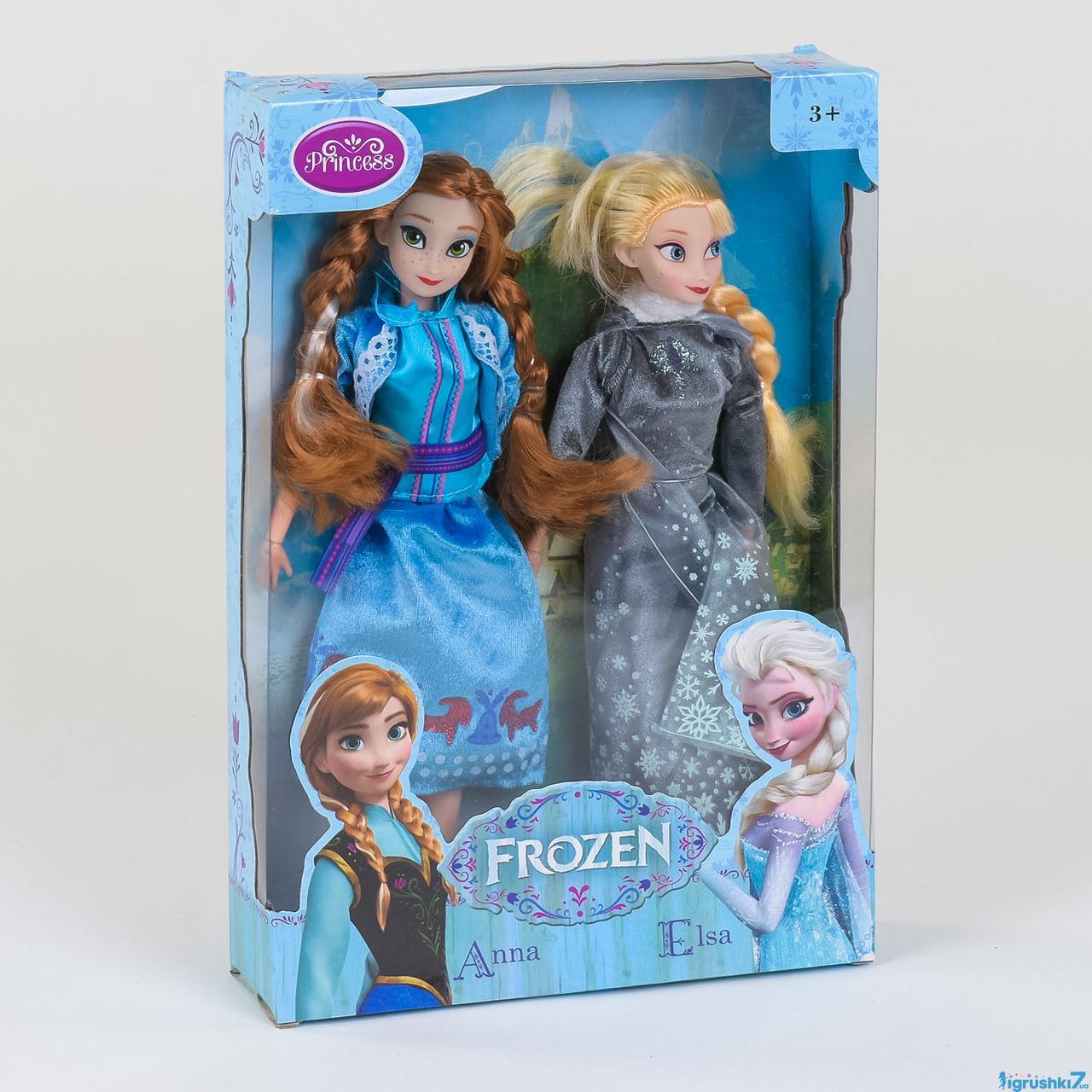 Куклы Анна и Эльза Frozen