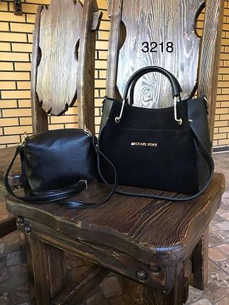 Стильная замшевая сумка, фото 2