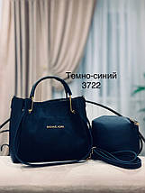 Стильная замшевая сумка, фото 3
