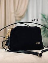 Маленька чорна сумка через плече, фото 2