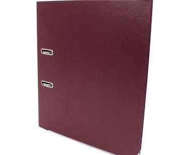 Папка регистратор Economix A4, 50 мм, бордовая E39720*-18