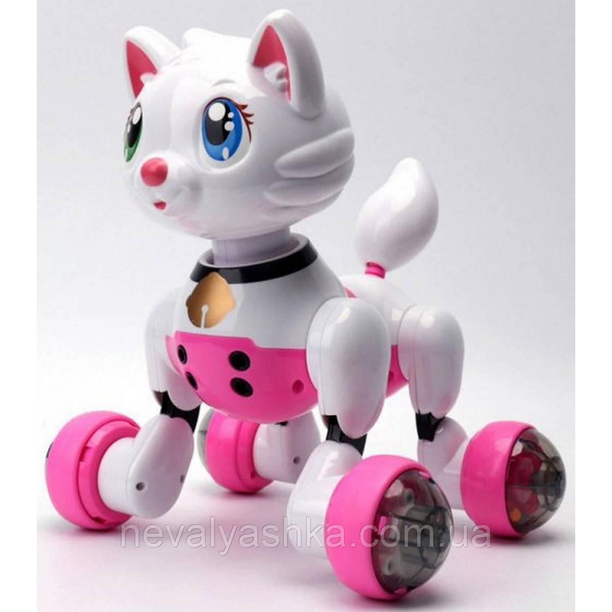 Кошечка животное на радиоуправлении, кошка на пульте управления,кот р/у, MG013-14, 006179