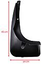 Брызговики MGC TOYOTA RAV4 XA40 2012-2015 г.в. комплект 4 шт PU060-4213, фото 3