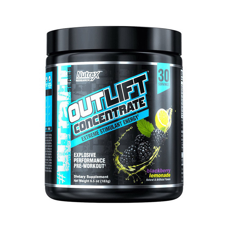 Предтреник Nutrex OutLift Concentrate (186 г) нутрекс аутлифт miami vice