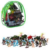Комбат РЮКЗАК, Военный Игровой Набор, Солдатики транспорт, в рюкзаке SH450 009638, фото 1
