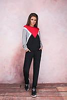 Трендовый женский спортивный костюм батал, фото 1