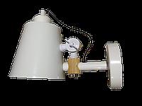 Светильник настенный LUMANO бра дизайнерский белый ARLANDA 60В Е27 IP20  000016916