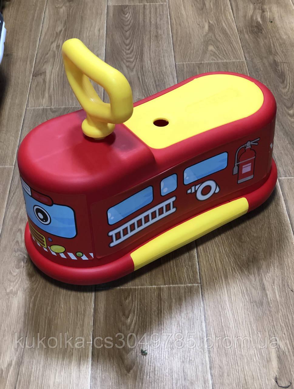 Музыкальный толокар Маратон для малышей. ( музыка, подсветка )
