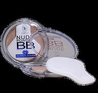 Компактная пудра для лица TF BB Nude Powder 3 in 1 (CTP15), фото 1