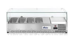 Витрина холодильная для топпинга Hendi 232 965 (4xGN1/3)