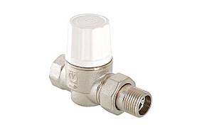 Термостатический клапан с высокой пропускной способностью