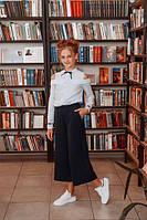 Стильная блуза для девочки, размеры  36, 38, 40. (Р-40)Размеры уточняйте!