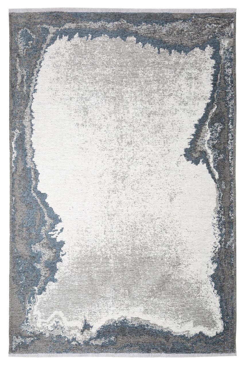 Ковер Moretti Turin двусторонний синий серый