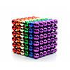 Магнитные шарики разноцветные 216 штук