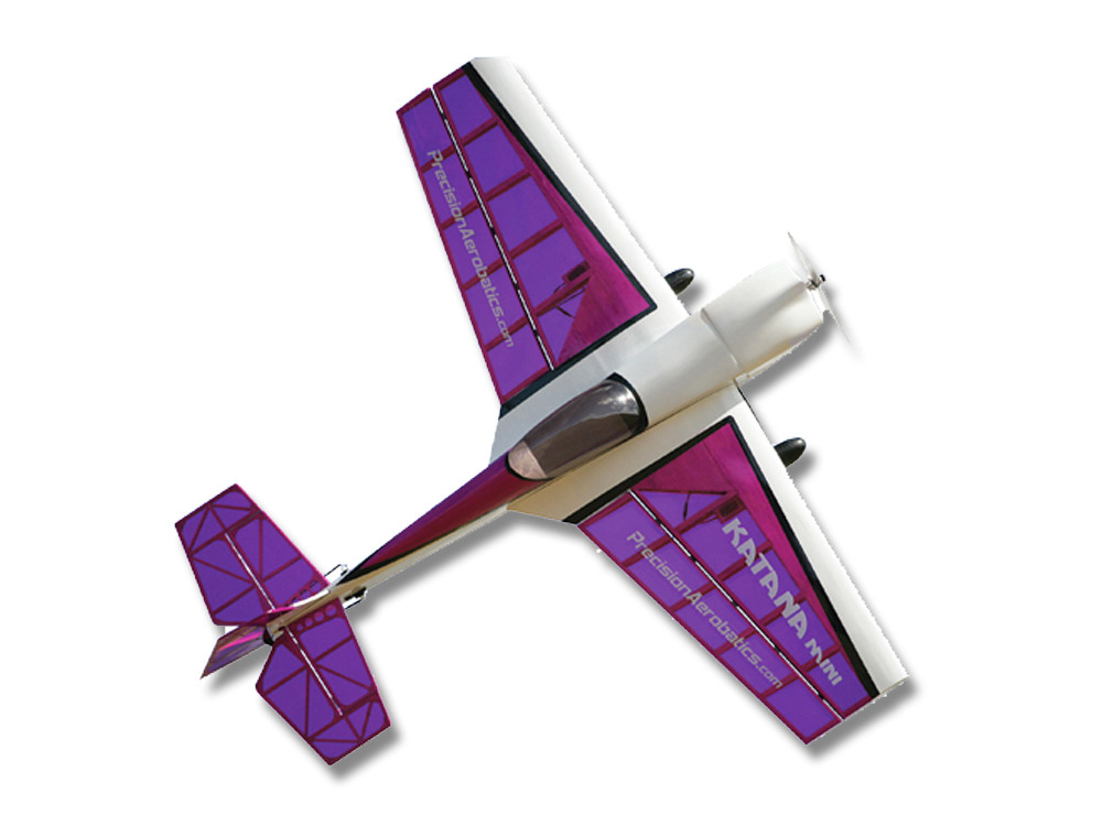 Літак р/у Precision Aerobatics Katana Mini 1020мм KIT (фіолетовий)