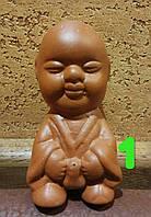 Чайный писающий мальчик №1 глиняный - обязательный элемент китайской чайной церемонии, 1 шт Китай