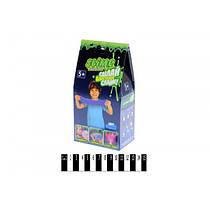 """Слайм блестящий,Набор для изготовления слаймов,Slime Набір """"Слизь своїми руками"""" (коробка) S100-5"""