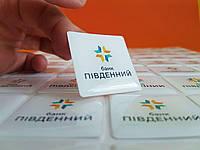 Шильды (объемные наклейки) с лого вашей компании