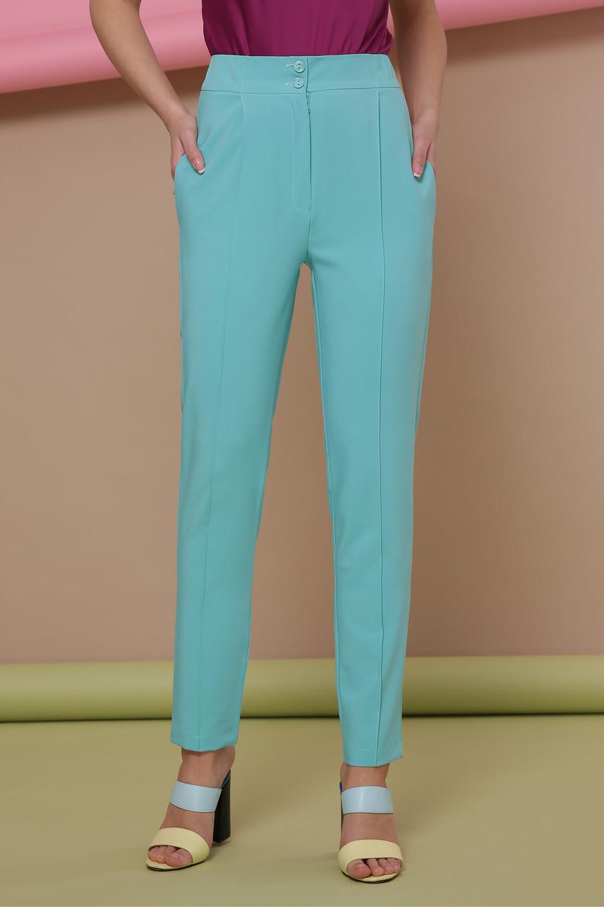 Женские брюки мятного цвета