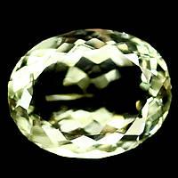 Кабошон зеленый аметист, 15,6*12,2 мм., 9,93 карат, 505КБА, фото 1