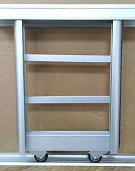 Раздвижная система шкаф-купе на 2 двери для самостоятельной сборки Ш1800мм х В2600мм