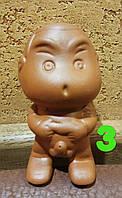 Чайный писающий мальчик №3 глиняный - обязательный элемент китайской чайной церемонии, 1 шт Китай