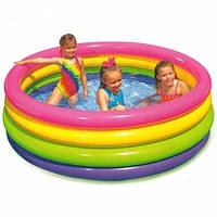 Детский надувной бассейн Bestway 168х168х46 см (56441)