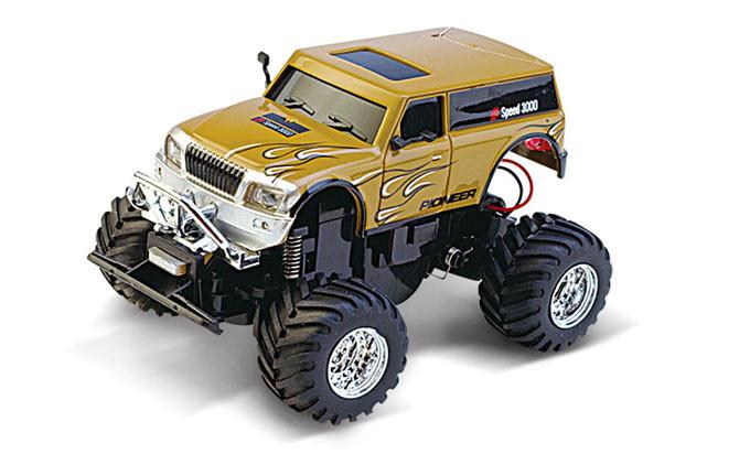 Машинка на радиоуправлении Джип 1:58 Great Wall Toys 2207 (коричневый, 27MHz)
