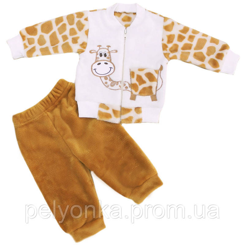 Детский костюм Жирафчик махра