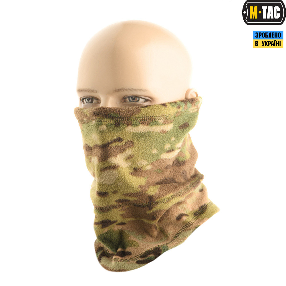 M-Tac шарф-труба анатомічний фліс multicam