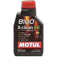 Motul 8100 X-clean FE 5W-30 1L, фото 1