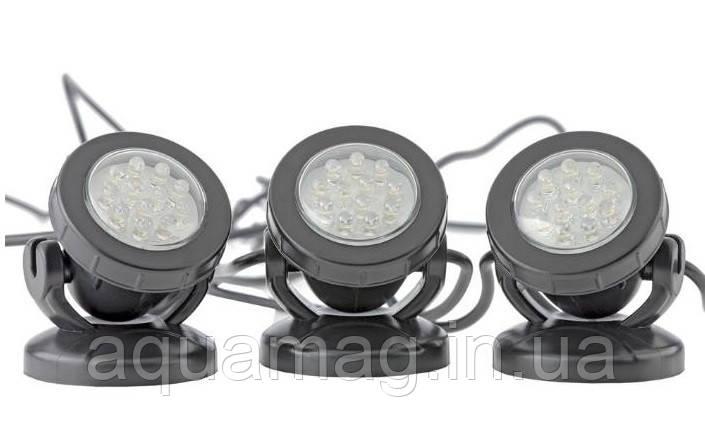 Pontec PondoStar Led Set 3 подсветка, светильник для пруда, фонтана, водопада, водоема, каскада
