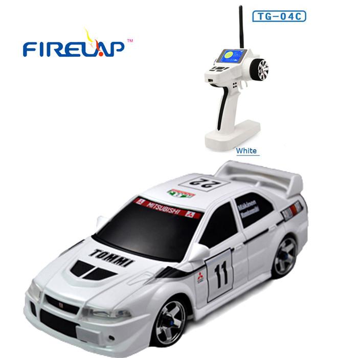 Автомодель р/у 1:28 Firelap IW04M Mitsubishi EVO 4WD (белый)