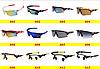 Спортивные очки 12видов  велоочки  / рыбалка/ охота / спорт