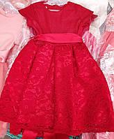 Платье для девочек с гипюром (2307/22)