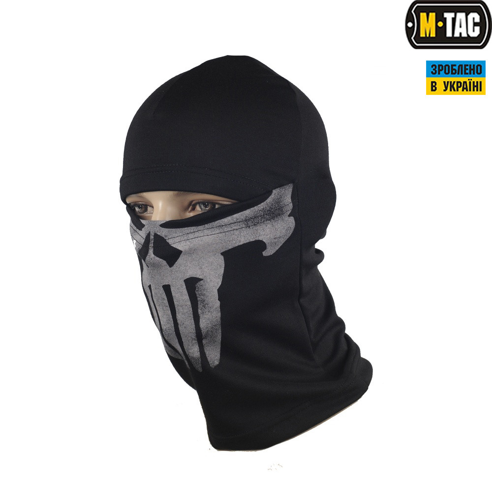 M-Tac балаклава-ніндзя Punisher чорна