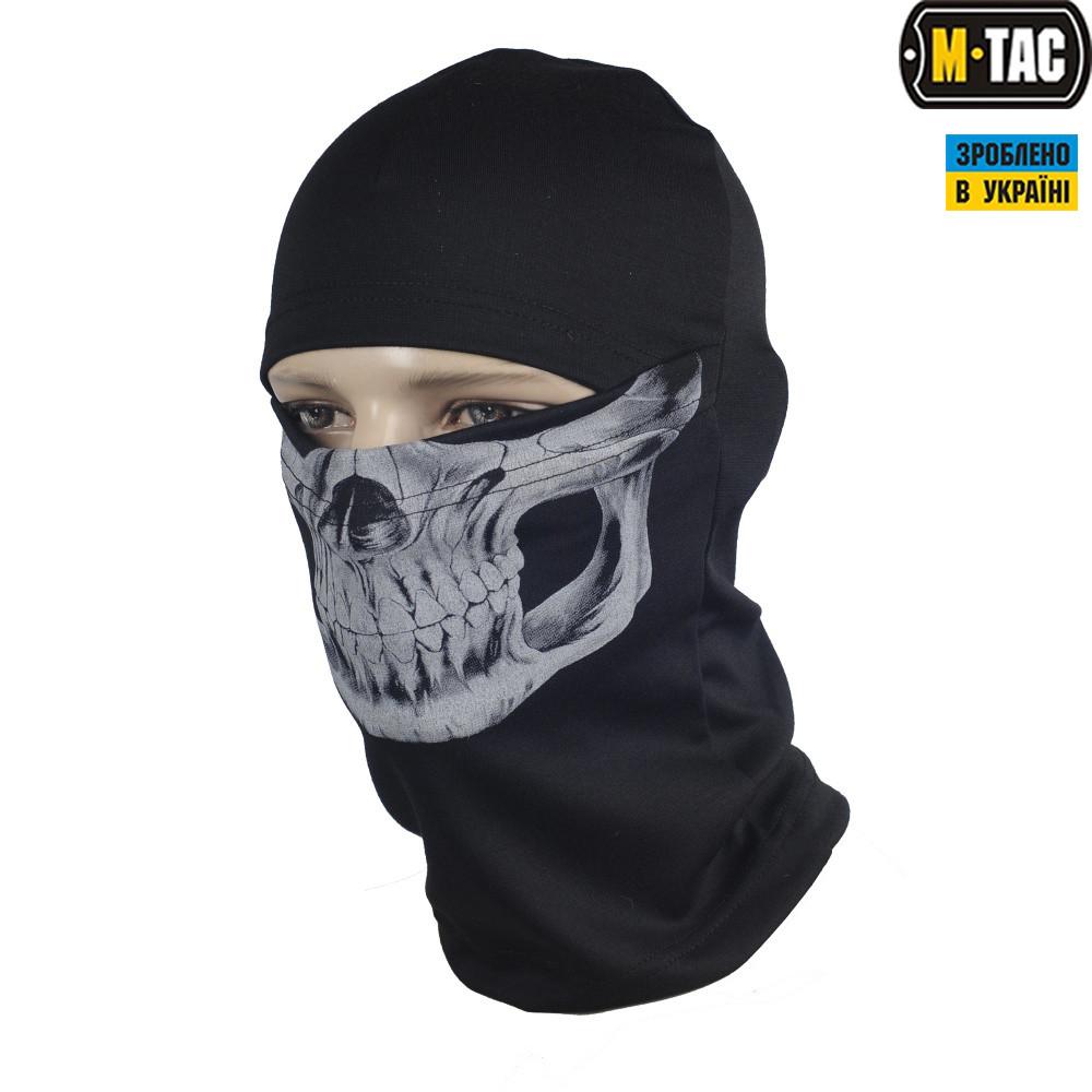 M-Tac балаклава-ніндзя Reaper Skull чорна