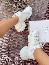 "Женские кроссовки Dior ""white"", фото 3"