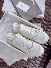 "Женские кроссовки Dior ""white"", фото 2"