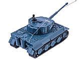Танк микро р/у 1:72 Tiger со звуком (серый), фото 3