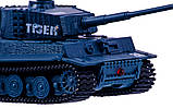 Танк микро р/у 1:72 Tiger со звуком (серый), фото 4