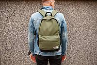 Рюкзак The North Face (khaki), городской рюкзак Норз Фейс хаки, хаки рюкзак TNF (Реплика ААА), фото 1