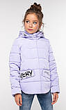 Модная куртка для девочки Робби 2, р 122-128.  Nui very  Украина, фото 5