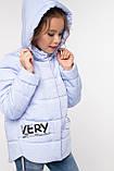 Модная куртка для девочки Робби 2, р 122-128.  Nui very  Украина, фото 7