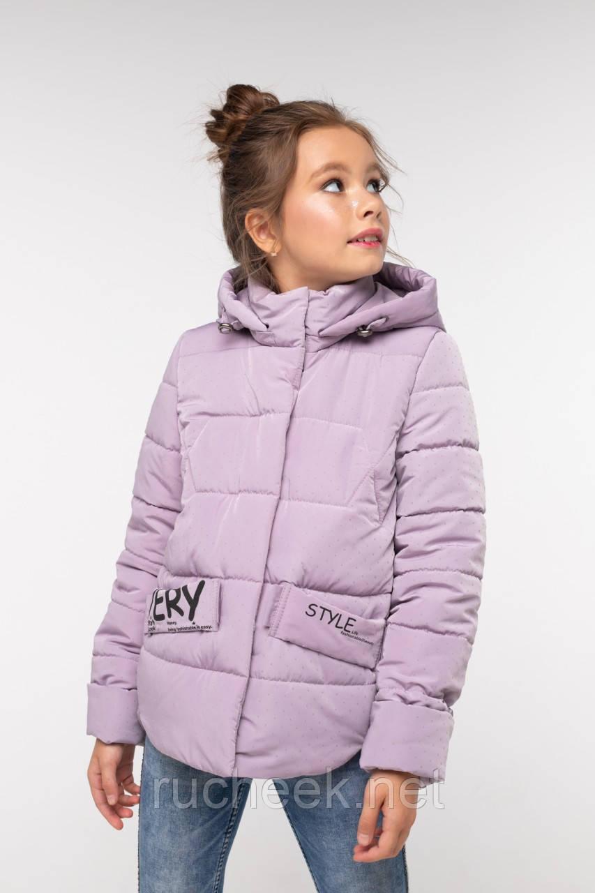 Модная куртка для девочки Робби 2, р 122-128.  Nui very  Украина