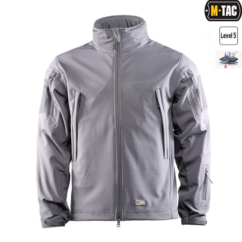 M-Tac куртка softshell сіра