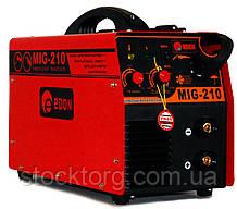 Зварювальний напівавтомат Edon MIG 210 (+ MMA)