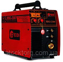 Зварювальний напівавтомат Edon MIG-280 (+MMA)